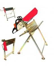 Cavalletto professionale per taglio tronchi legna per motosega - max 120kg