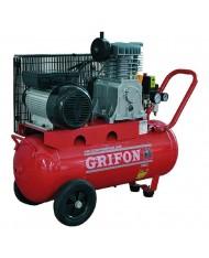 Compressore 100lt hp 2 grifon trasmissione a cinghia
