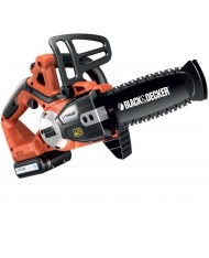 Motosega a batteria litio 18V 2Ah Black & Decker GKC1820 L20 20cm 1 batterie