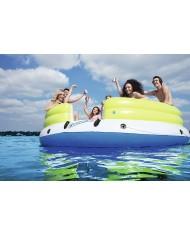 Bestway- Isola Coolerz Lazy DayZ per 6 Persone, Galleggiante multicolore, 43135