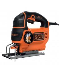 BLACK+DECKER  B&D KS801SE sega seghetto alternativo elettrico 550W taglio legno acciaio