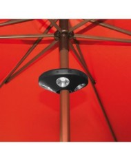 LAMPADA AL LED PER OMBRELLONE A BATTERIA  - 24 LED SATELLITE