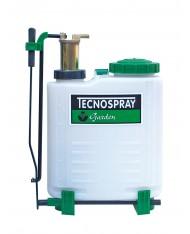 Pompa a zaino 12lt B12T - pistone ottone - lancia in ottone - Tecnospray