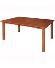 TAVOLO in legno TROPICALE IMPRESSION RETTANGOLARE  140X80X73 CM GIARDINO MASSELLO