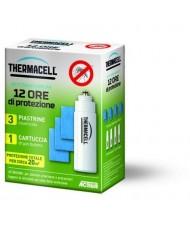 Ricarica 12 ore per Antizanzare verde Thermacell Mini gas butano e piastrine