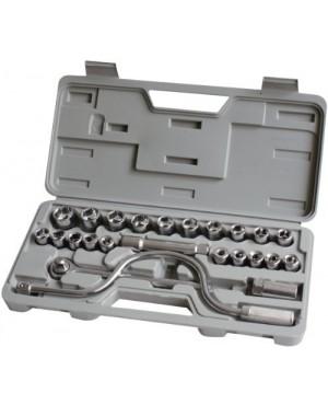 Set chiavi a bussola - 24pz - BUSSOLE ATTACCO 1/2 - CRICCHETTO + LEVE