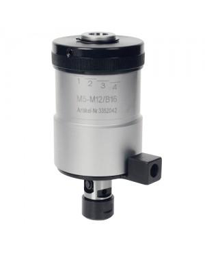 Optimum - OPT3352042 - Maschiatrice Con Frizione Di Inversione Da M5 a M12