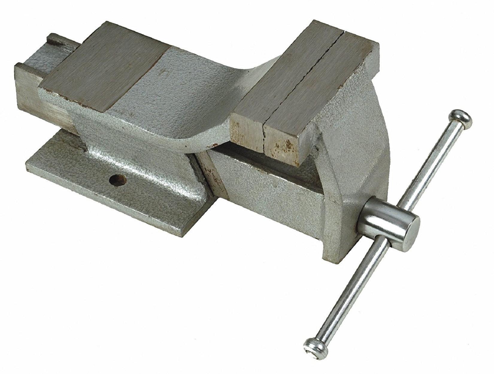 Maurer morsa da banco 150mm in acciaio forgiato base for Morsa da banco idraulica